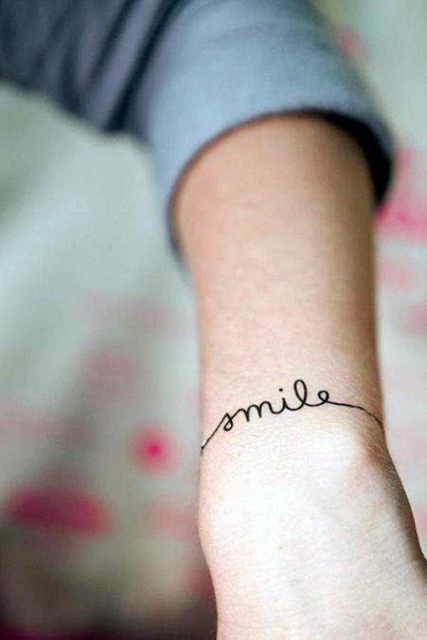 Stimulating Written Tattoos For Women 39