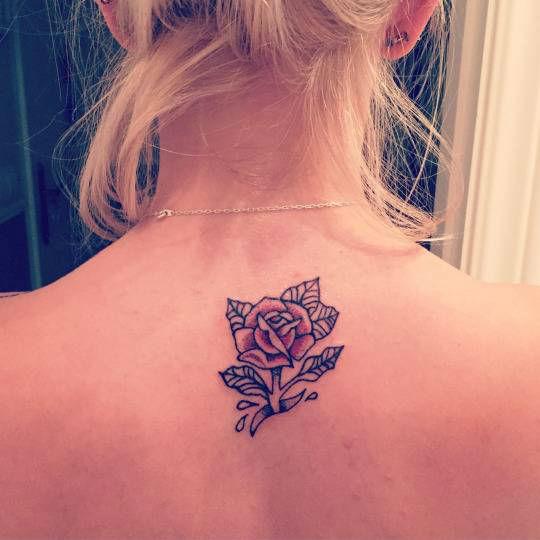 Upper Back Tattoos for Women 18