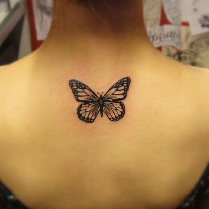 Upper Back Tattoos for Women 3