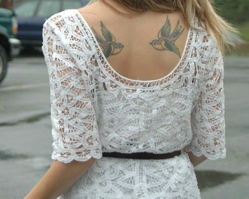 Wonderful Swallow Tattoo Designs 12