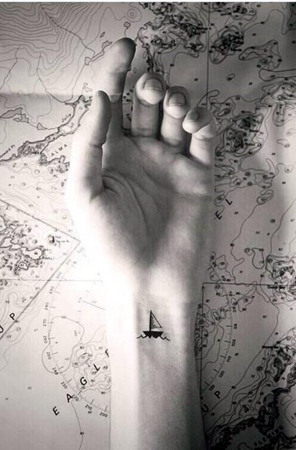 Boat Tattoo Designs 22