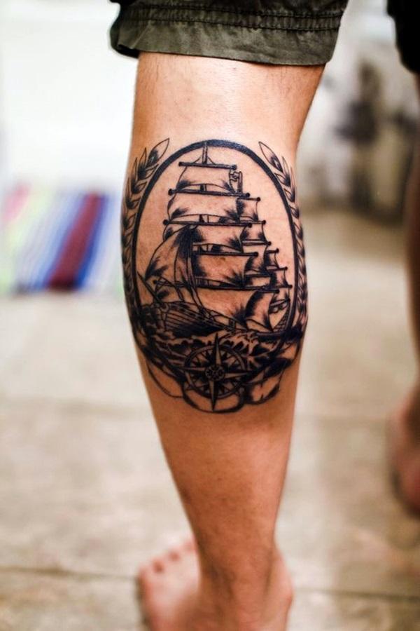 Boat Tattoo Designs 25