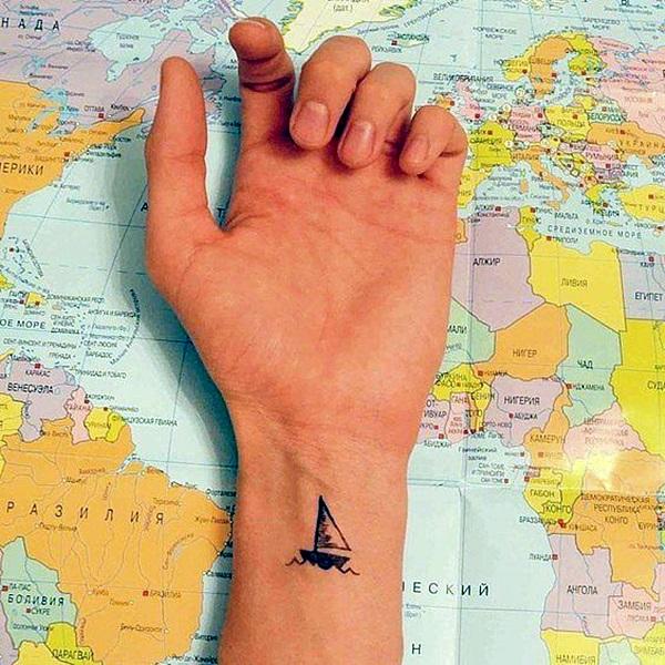 Boat Tattoo Designs 30