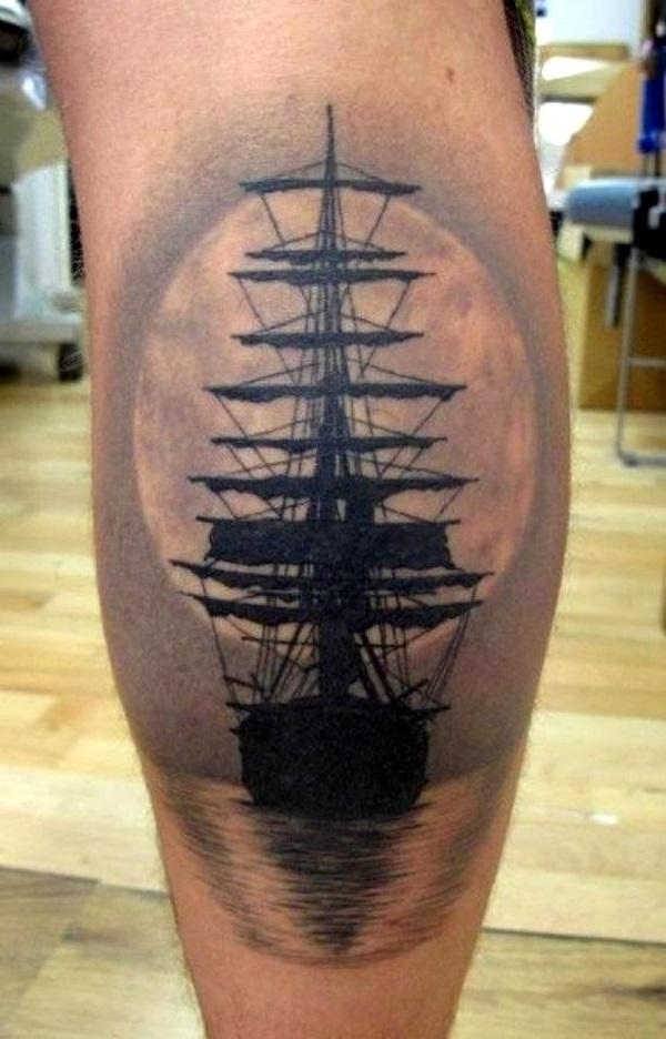 Boat Tattoo Designs 32