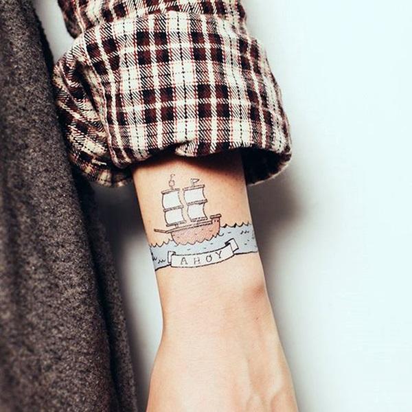 Boat Tattoo Designs 37