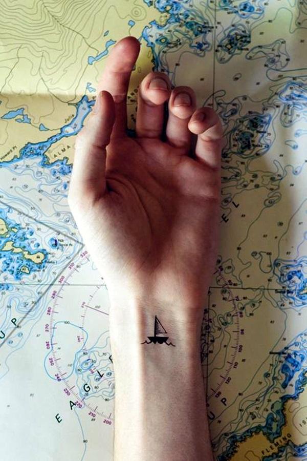 Boat Tattoo Designs 38