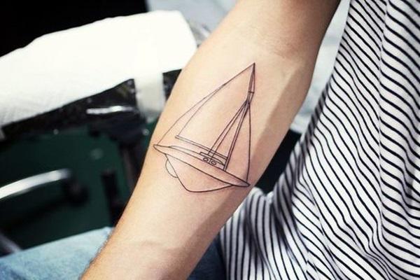 Boat Tattoo Designs 43