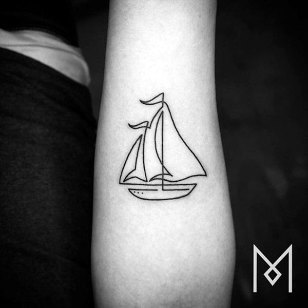 Boat Tattoo Designs 44