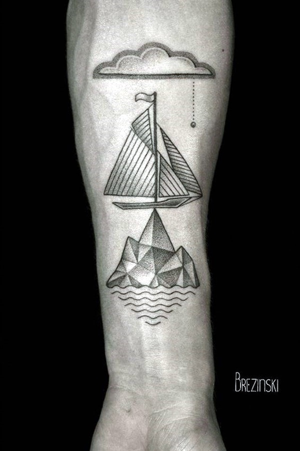 Boat Tattoo Designs 9