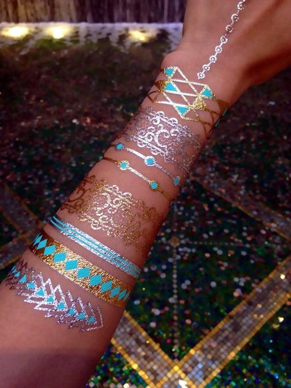 Genius Metallic Tattoos Design 10