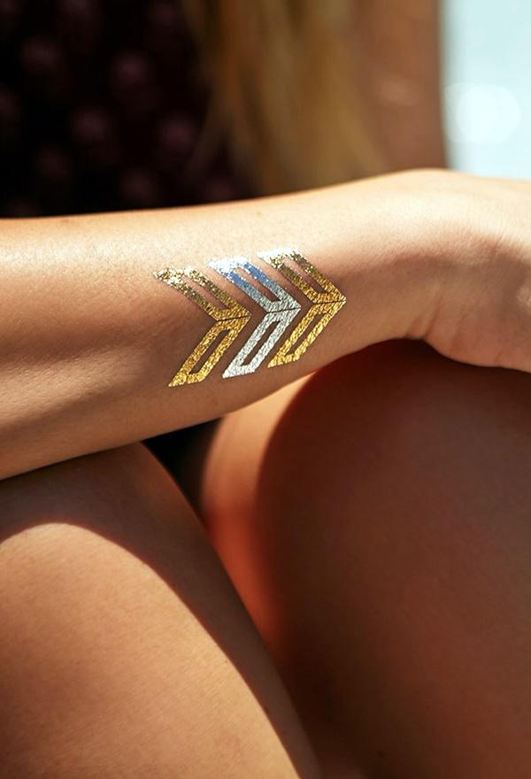 Genius Metallic Tattoos Design 18