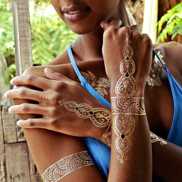 Genius Metallic Tattoos Design 29