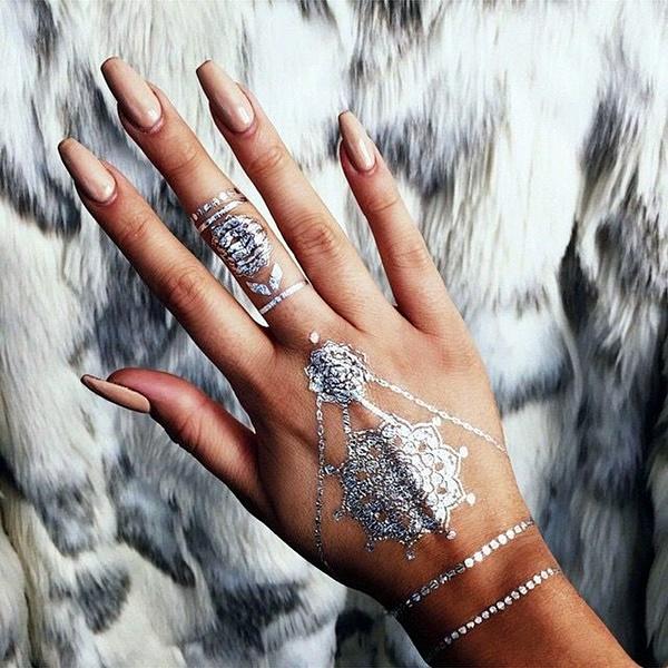 Genius Metallic Tattoos Design 38
