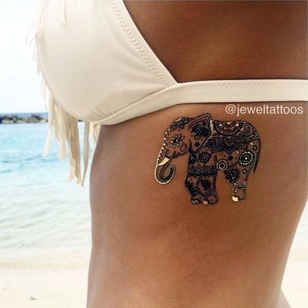 Genius Metallic Tattoos Design 6