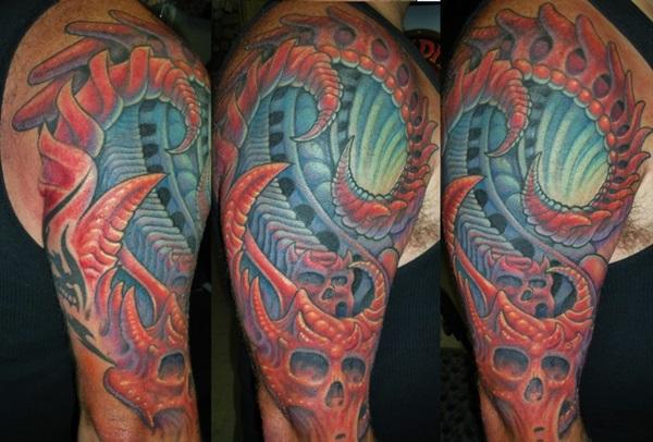 Insane Mechanics Tattoo Designs 1