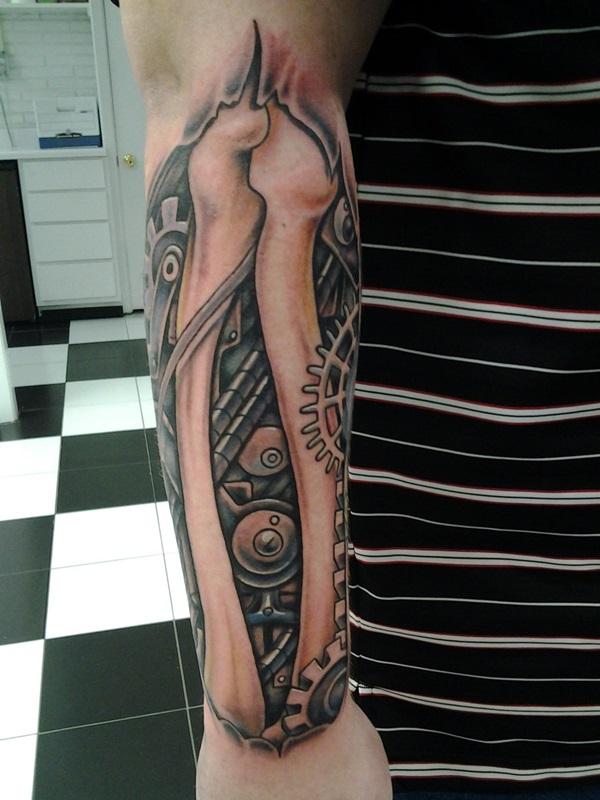 Insane Mechanics Tattoo Designs 12