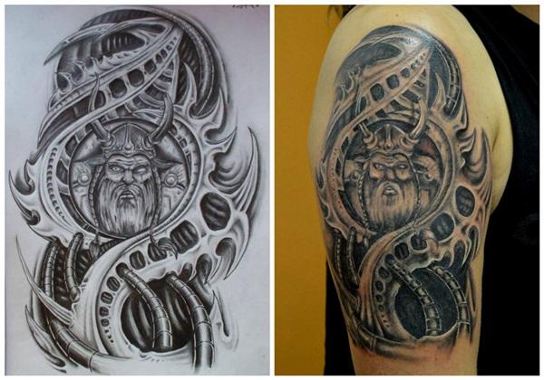 Insane Mechanics Tattoo Designs 23
