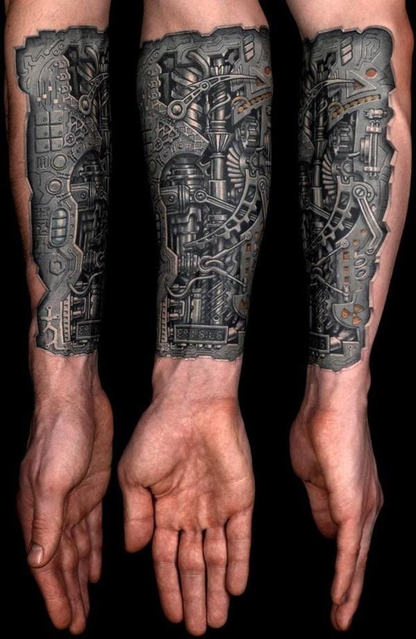 Insane Mechanics Tattoo Designs 29