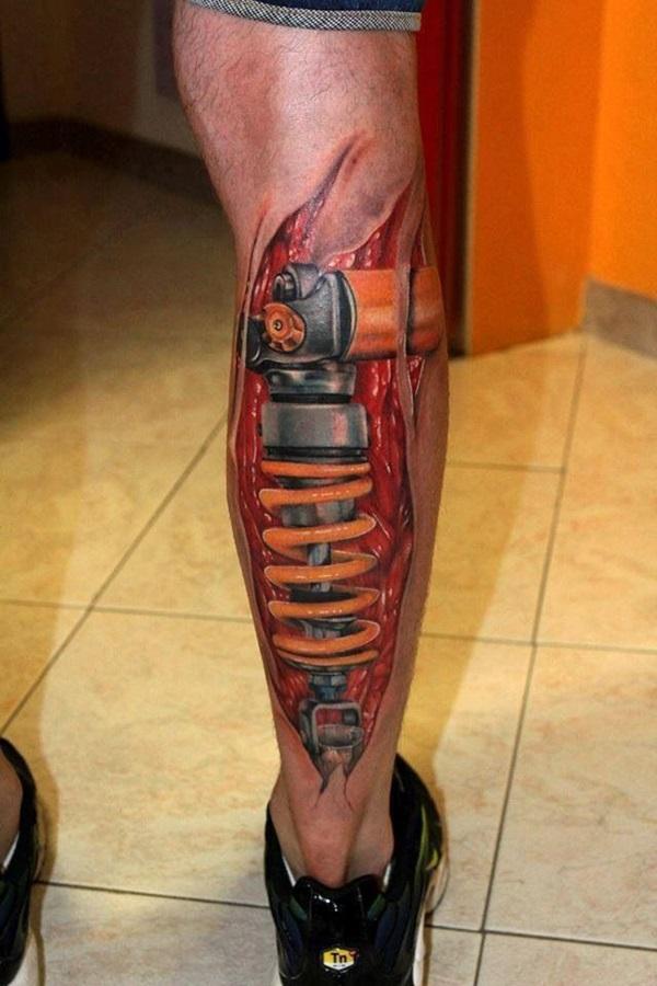 Insane Mechanics Tattoo Designs 33