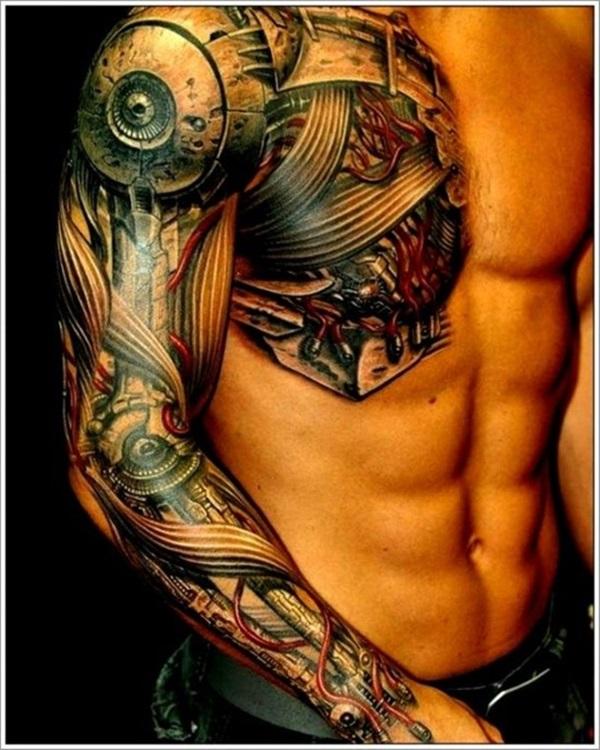 Insane Mechanics Tattoo Designs 6