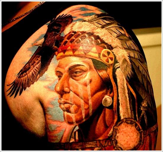 Native American tattoo design