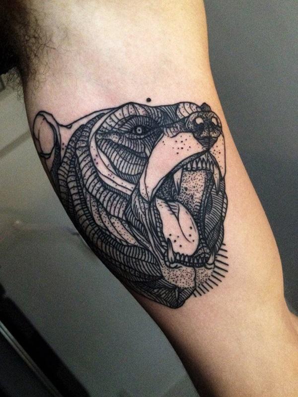Original Line Tattoo Designs 17