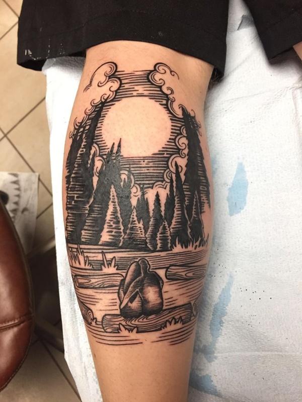 Original Line Tattoo Designs 18