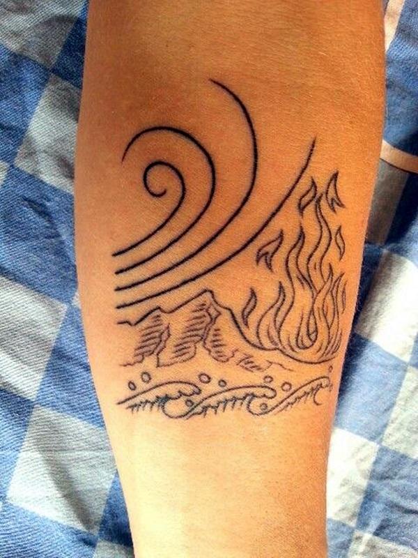 Perfect Elemental Tattoo Ideas 31