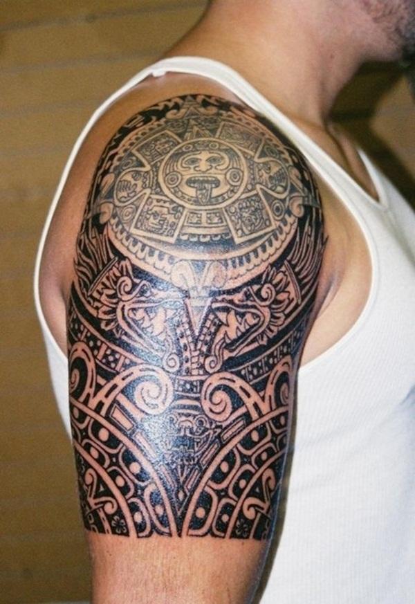 Aztec Tattoo Designs 13