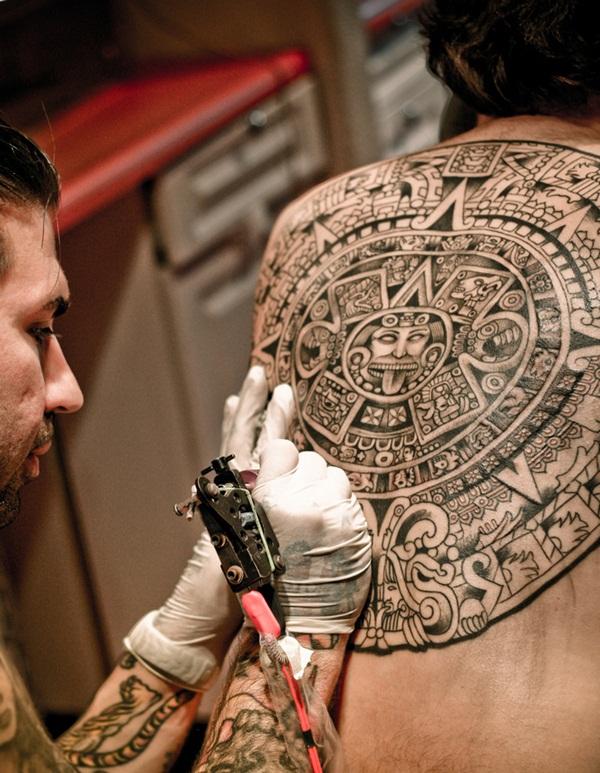 Aztec Tattoo Designs 22