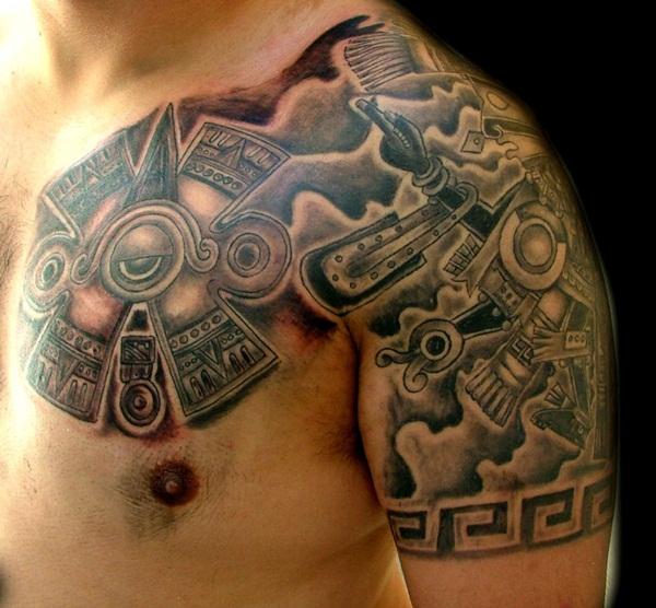 Aztec Tattoo Designs 28