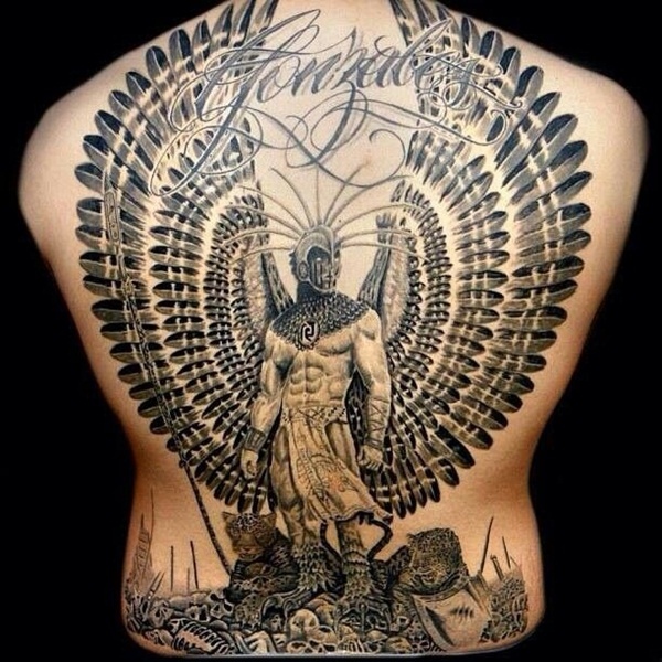Aztec Tattoo Designs 31