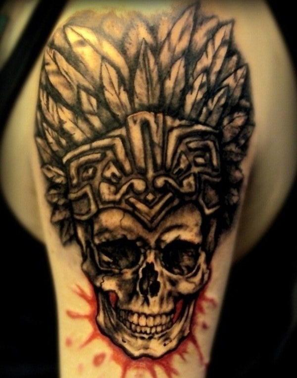 Aztec Tattoo Designs 34