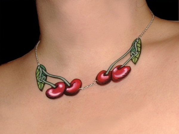 Cherry Tattoo Designs 10