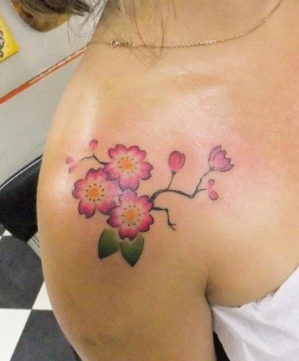 Cherry Tattoo Designs 18