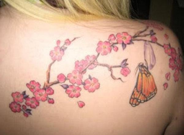 Cherry Tattoo Designs 19