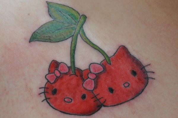 Cherry Tattoo Designs 27