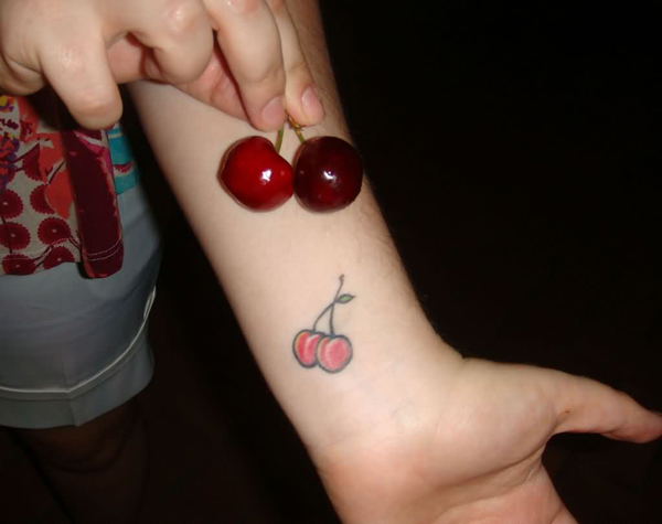 Cherry Tattoo Designs 33