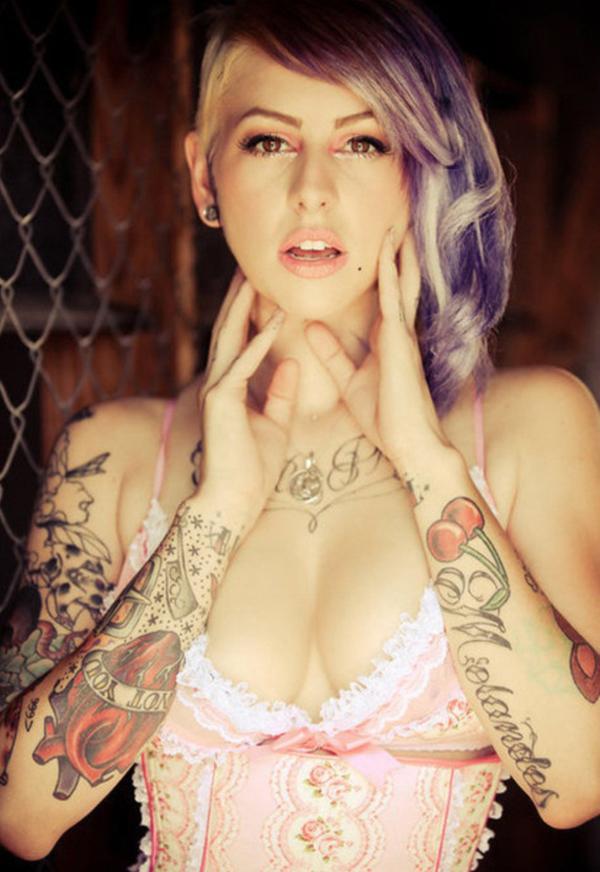 Cherry Tattoo Designs 6