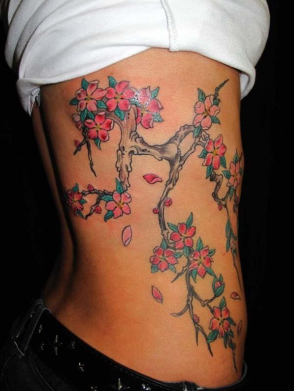 Cherry Tattoo Designs 7