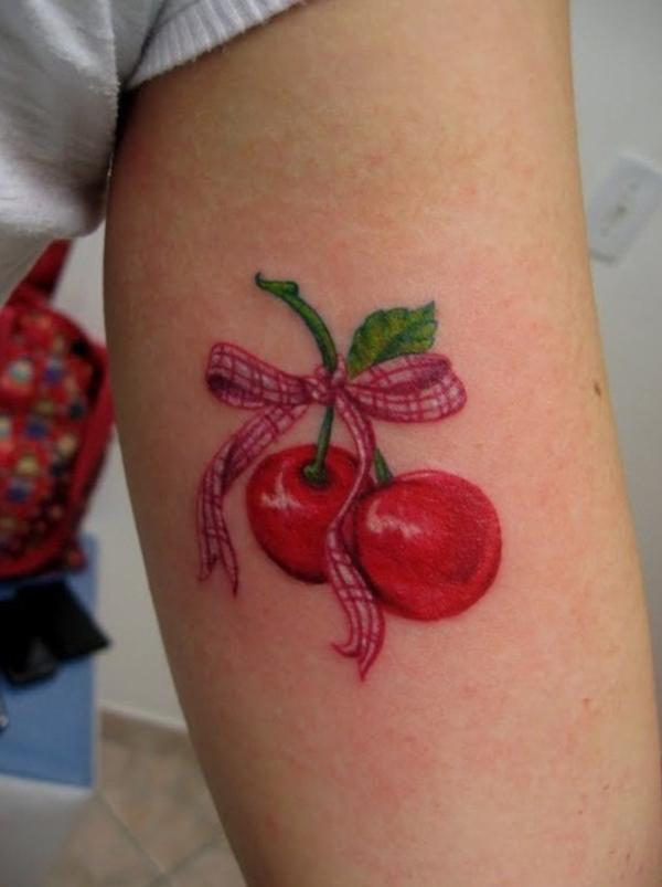Cherry Tattoo Designs 9