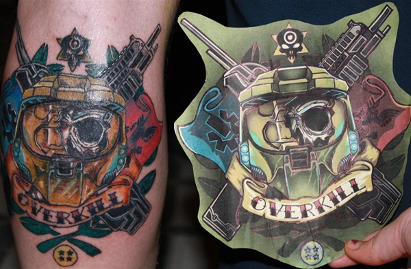 Game Tattoo Designs for Boys and Girls 14