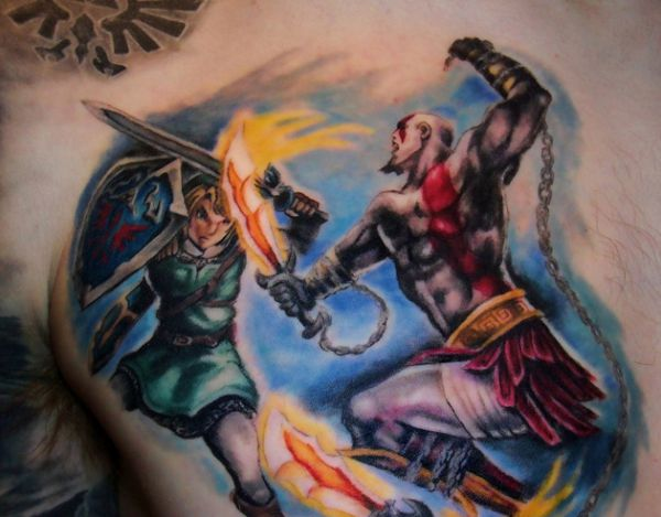 Game Tattoo Designs for Boys and Girls 32