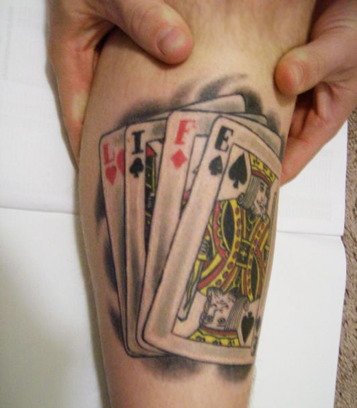 Game Tattoo Designs for Boys and Girls 33