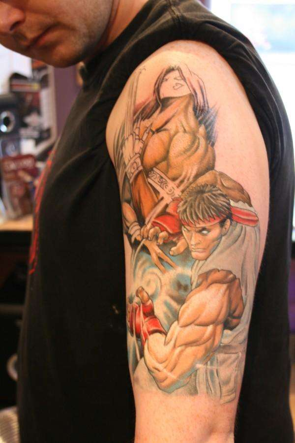 Game Tattoo Designs for Boys and Girls 35