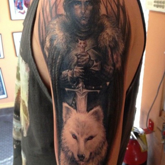 Game Tattoo Designs for Boys and Girls 40