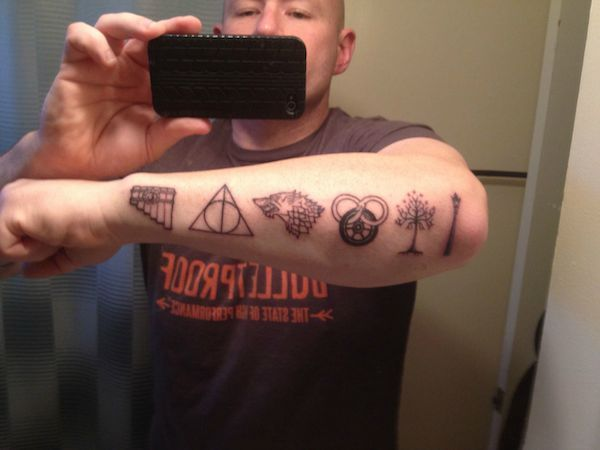 Game Tattoo Designs for Boys and Girls 45
