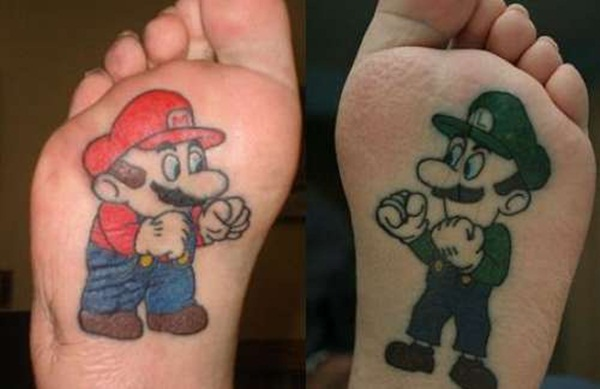 Game Tattoo Designs for Boys and Girls 46