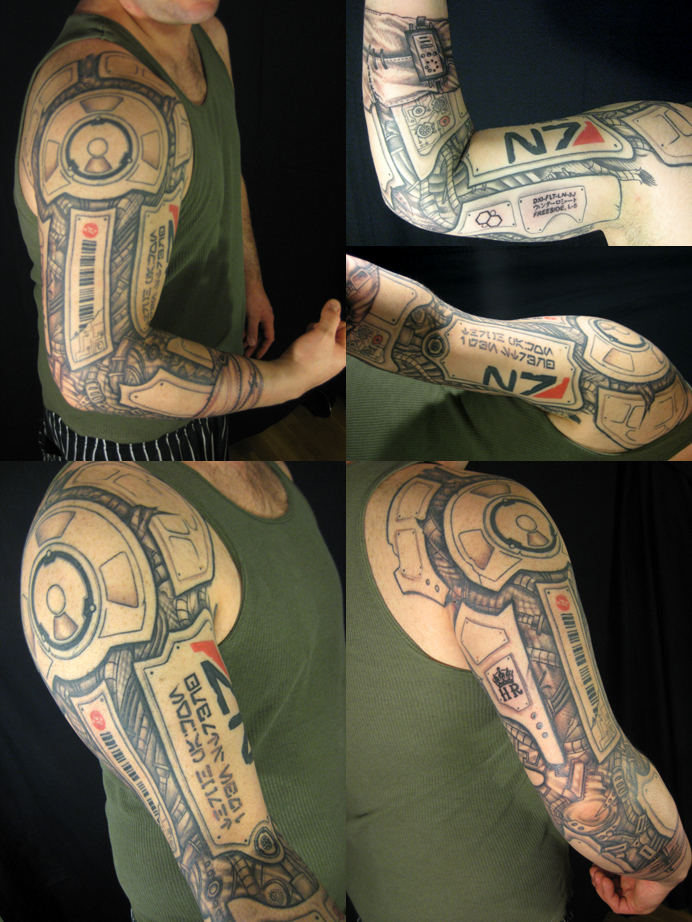 Game Tattoo Designs for Boys and Girls 48