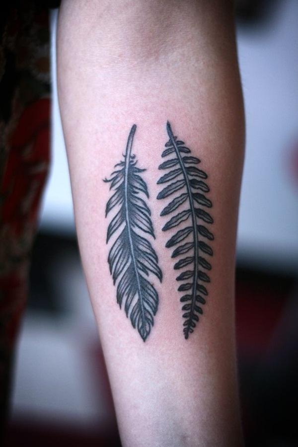 Leaf Tattoo Design Ideas 17